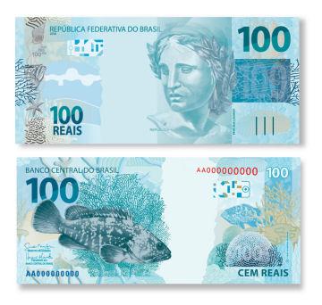 Brazilian Banknotes Coins